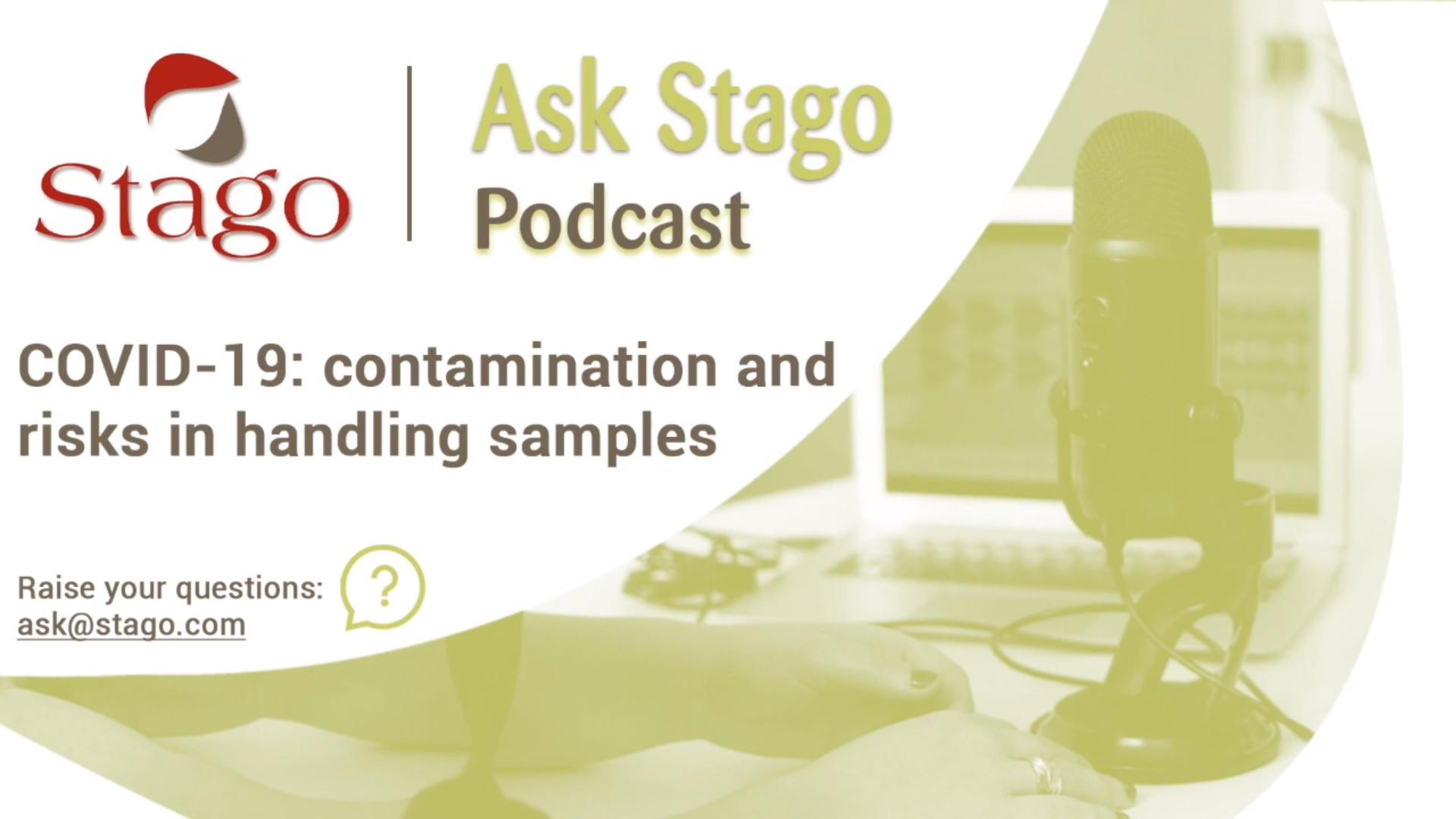 """Рубрика """"Спроси Stago"""" - COVID-19, риски контаминации при работе с образцами крови"""