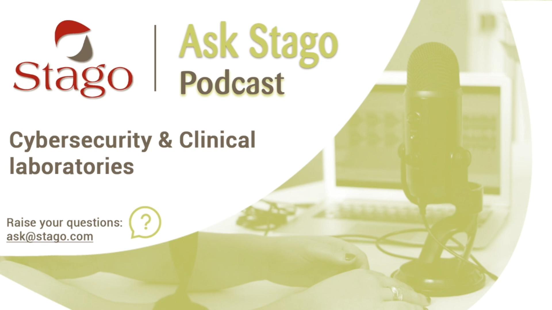 """Рубрика """"Спроси Stago"""" - Кибербезопасность в клинических лабораториях"""