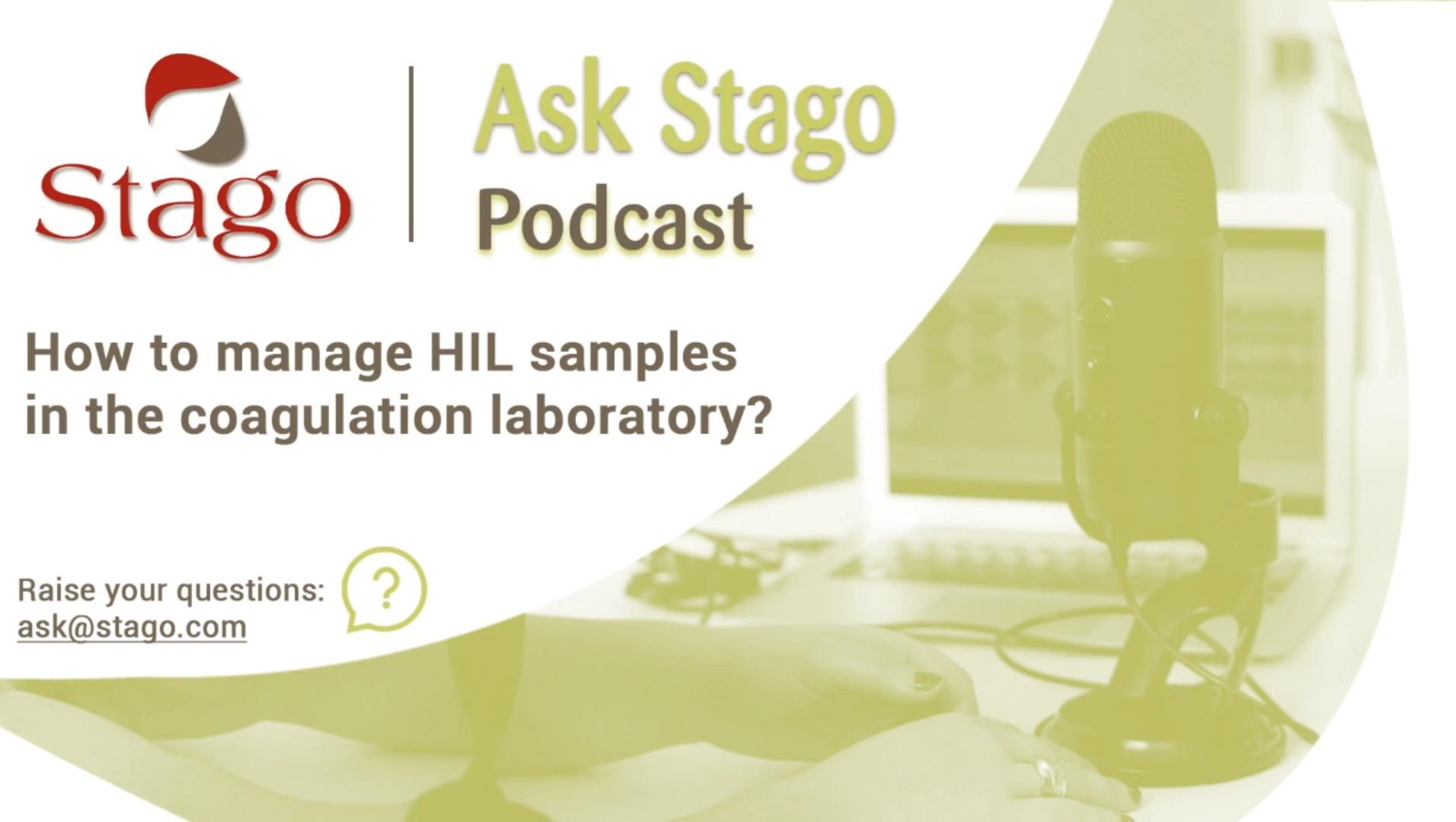 """Рубрика """"Спроси Stago"""" - Исследование образцов с HIL интерференцией."""