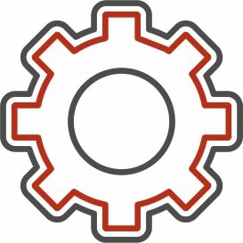 White stirring magnet